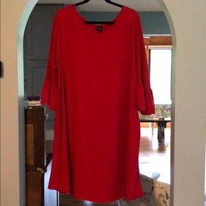 2xl Red Agnes & Dora Walker Dress